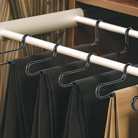 ELITE SLACK PULL-OUT RACK WITH HANGERS