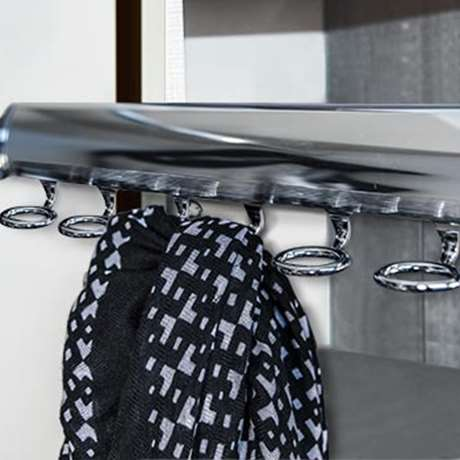 ELITE SCARF RACK WITH FULL EXTENSION SLIDE
