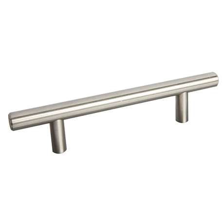 BAR Brushed Chrome Handle, Part# 1519 — 96MM betwe