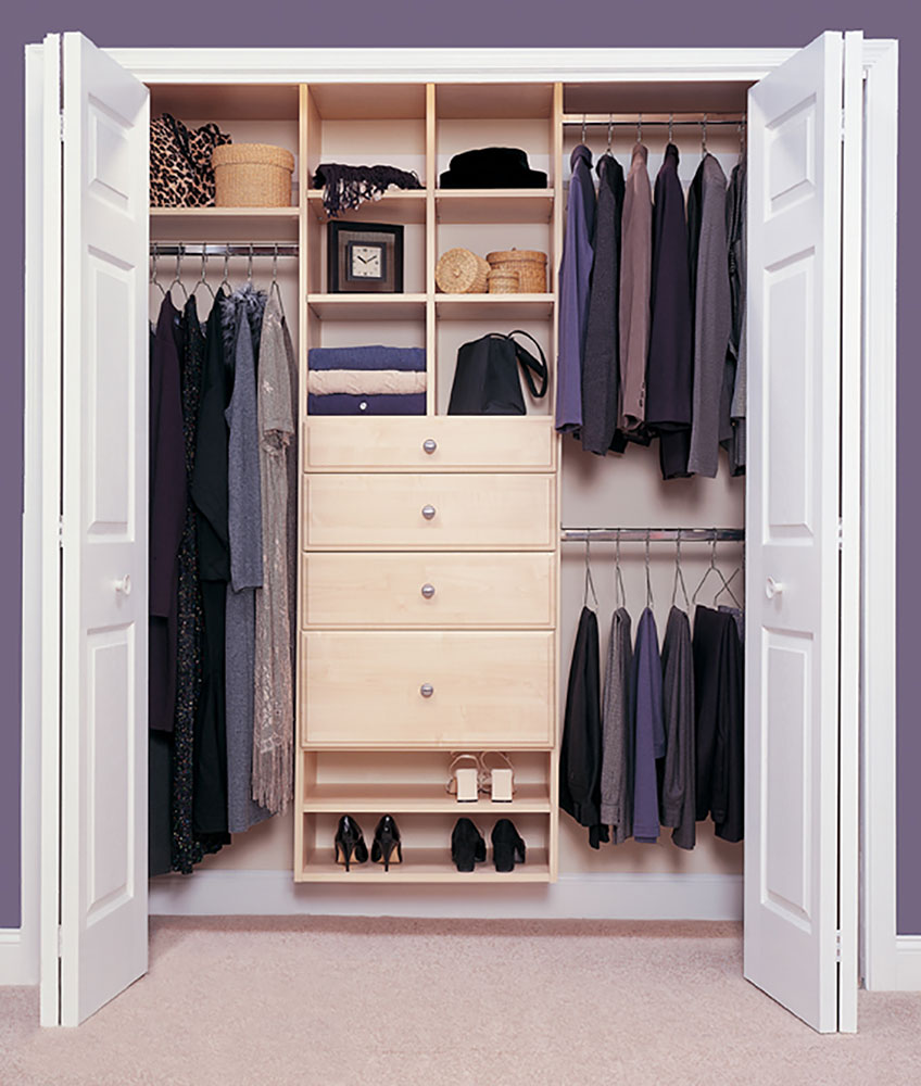 Reach In Closet Solutions In Roanoke Valley